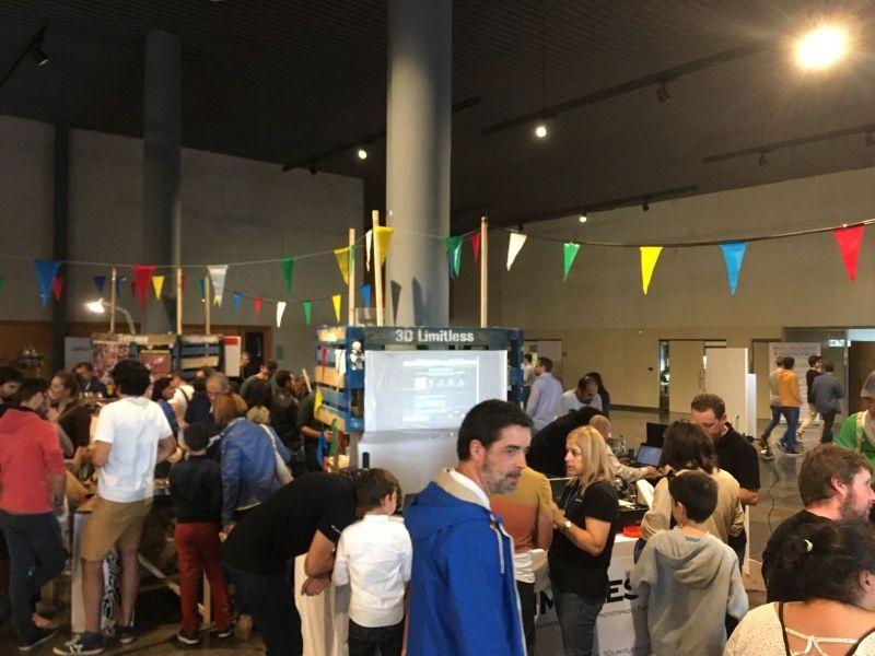 Acudimos a la Makerfaire Galicia 2016