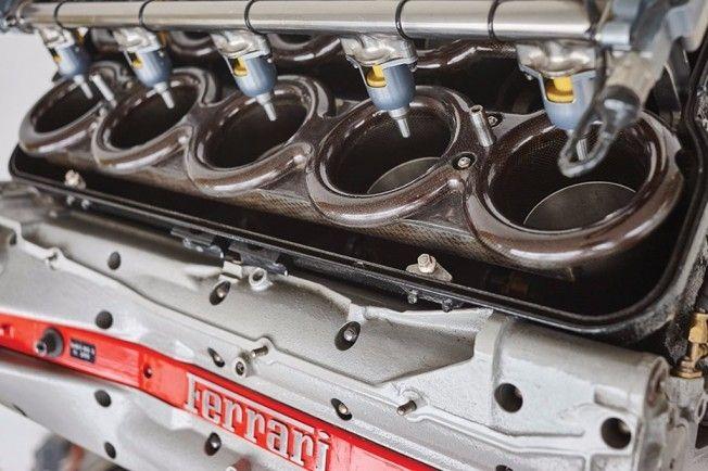 Pistones motor Ferrari impresos 3D